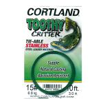 Cortland Toothy Critter Knotbares Wire  - 15,88 kg - 3 Meter