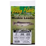 Frog Hair Muskie Vorfach 6 ft (1.8 M) - 20# x 80# Bite