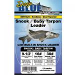 Deep Blue  Tarpon Leader Dual Tapered Knotless Vorfach 20lbs
