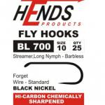 Hends Streamer, Long Nymph  Barbless Hook BL700