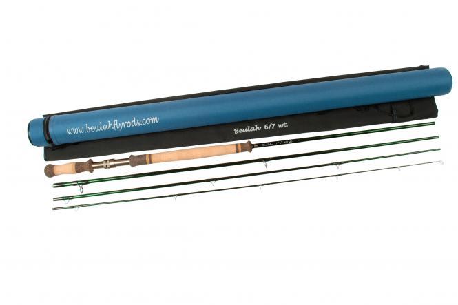 Beulah Classic Spey Ruten mit Rohr und Futteral